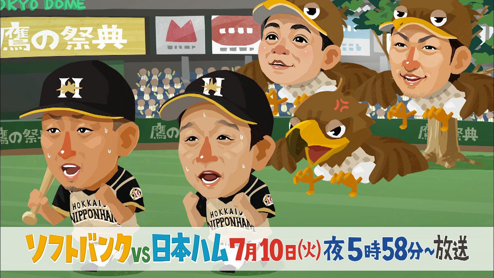 プロ野球 福岡ソフトバンクホークス×北海道日本ハムファイターズ
