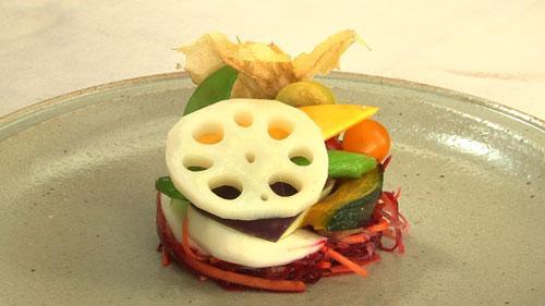 美活レストラン~あの人のキレイの秘密~:人参とビーツのラペそして季節の野菜